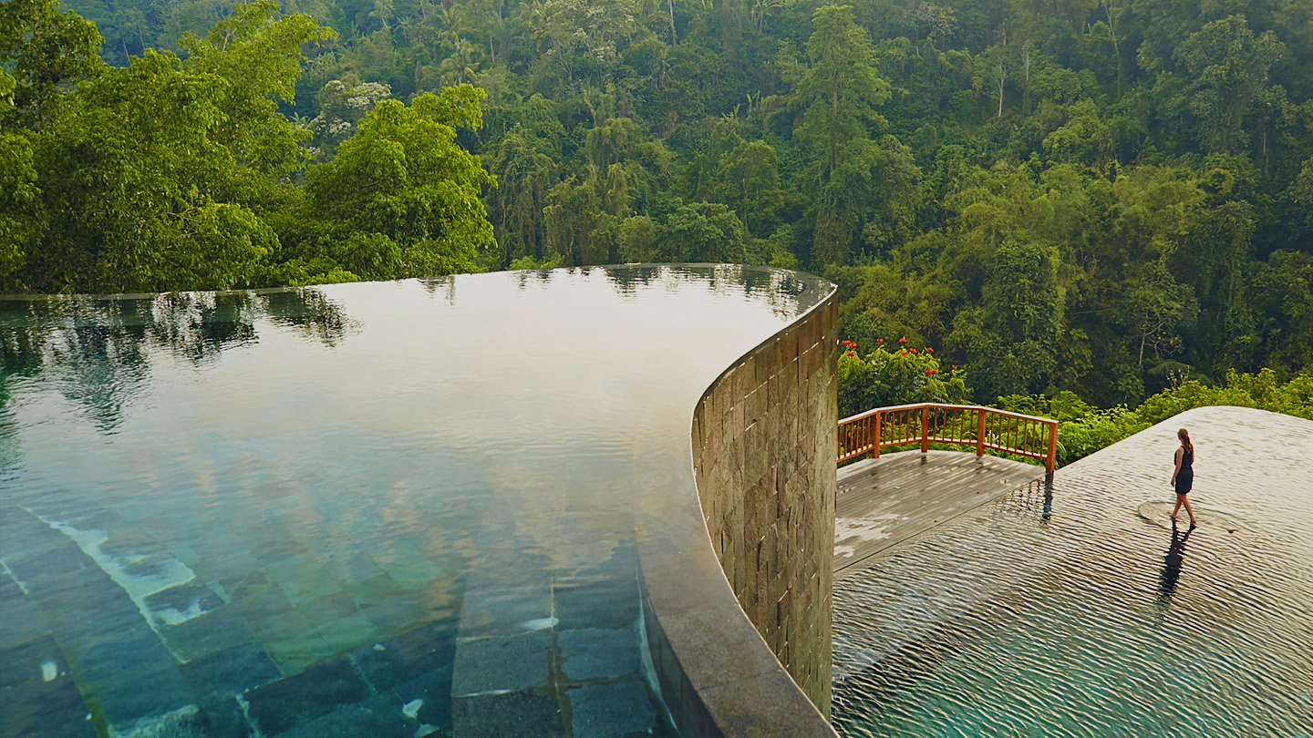 Hanging Gardens of Bali Ubud Best Swimming Pool hotel book